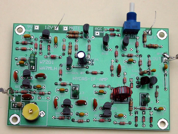 loaded circuit board